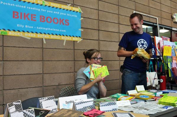 Lookit all their bike books!